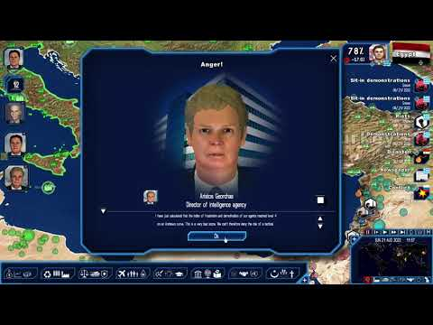 Geopolitical Simulator 4: Return to the Golden Age of Greece pt. 82 - Civil Strife Threatening Rule