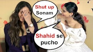 Kareena Kapoor SHOCKING Reaction When Sonam Kapoor Takes Shahid Kapoor Name