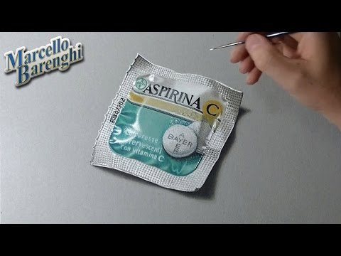 Aspirin effervescent tablet - drawing