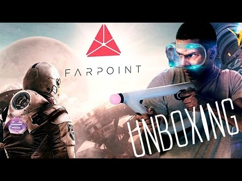 Unboxing | Farpoint | Playstation VR - Aim Controller