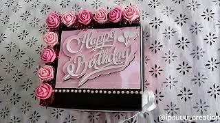 Birthday gift//birthday explosion box// birthday surprise box//birthday celebration ❤️