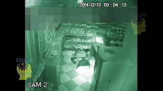 Top clip ma quỷ qua camera an ninh vào giờ linh - p2