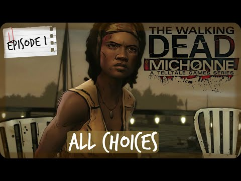 The Walking Dead Michonne | ALL CHOICES | Episode 1