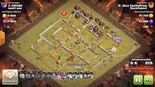 Clash of Clans | Special War Event #1 BlackForest vs bamit nho