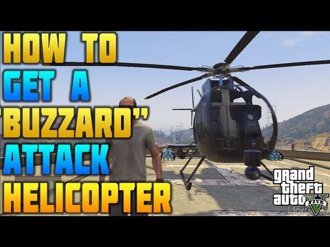"""""""GTA 5"""" - """"BUZZARD HELICOPTER"""" - How To Get A Buzzard Helicopter (""""BUZZARD Location"""") NO CHEATS"""