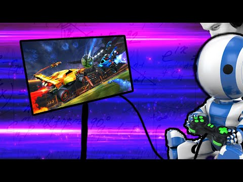 What if Rocket League Pros are ACTUALLY ROBOTS? 2v2 with Squishy... More or Less thumbnail