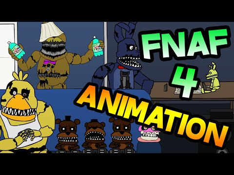 Five Nights at Freddy's 4 Animation || Five House Parties at Freddy's (REACTION) || FNAF 4 ANIMATION