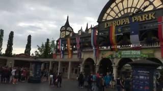 EUROPA-PARK. FREIZEITPARK - парк развлечений в Германии(ЕВРОПА-ПАРК - самый красивый парк развлечений в Германии: многочисленные аттракционы для посетителей любог..., 2016-08-08T10:42:22.000Z)