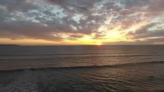 Westward Ho! Sunset from DJI Phantom 4