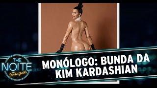 The Noite (13/11/14) - Monólogo: Bunda da Kim Kardashian