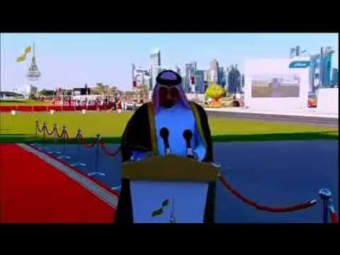 Qatar National Day celebration 18 December 2017 with fighter plains