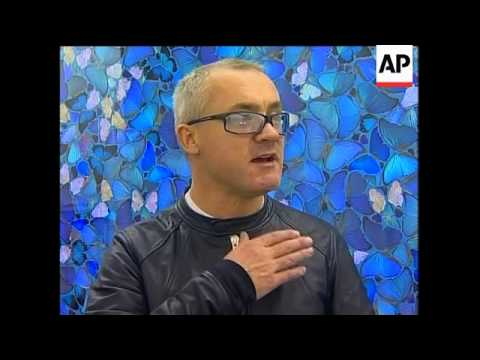 Ukraine hosts exclusive look at new paintings by Damien Hirst