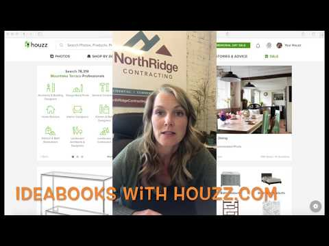 Houzz IdeaBooks Tutorial