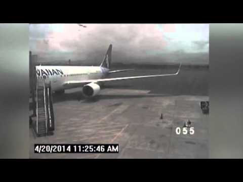 Raw: Hawaii Releases Video of Teen Stowaway