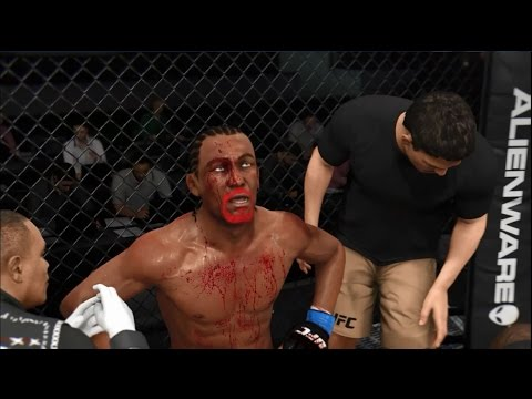 EA Sports UFC Career Mode Road To Bruce Lee #18 Bloodiest ...