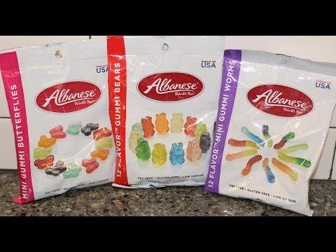Albanese Gummi: Butterflies, Bears & Worms Review