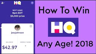 How To Win HQ Trivia : Tricks, Strategies, And More!