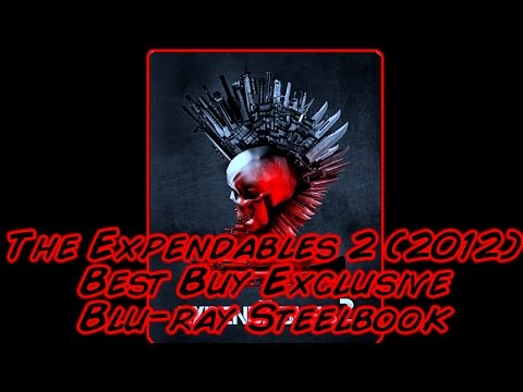 The Expendables 2 (2012) Best Buy Exclusive Blu-ray Steelbook | Metal Box | Unboxing