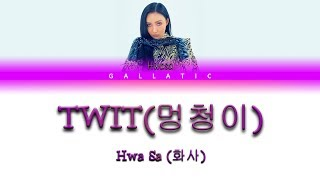 Download lagu Hwa SaTWITLyrics MP3