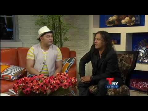 Manolo en Telemundo Buenos dias New York con Farfan Productions