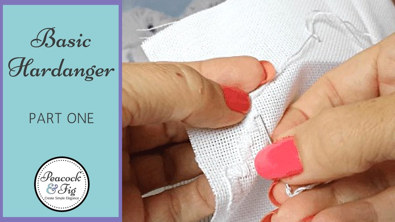 How To Do Basic Hardanger Embroidery: Part 1  Experimenting With Hardanger