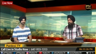 Gambar cover interview with Kay V Singh with host Satnam Singh live on Pardesi TV