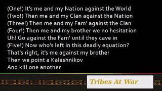 Nas & Damian Marley - Tribes At War ft. K'naan [Lyrics]