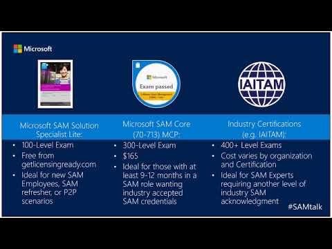 SAMTalks - SAM MCP Exam Prep with Rudy Sias