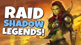 Raid shadow legends gameplay