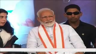 PM Shri Narendra Modi addresses public meeting in Sakoli, Bhandara, Maharashtra