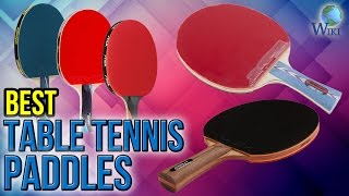 10 best table tennis paddles 2017
