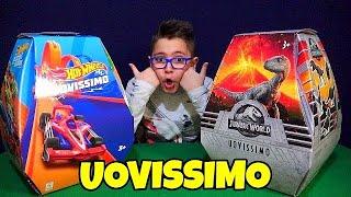 UOVISSIMO HOT WHEELS e JURASSIC WORLD - Leo Toys