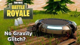 Pas de gravité à Fortnite ? Weirdest Launch Pad Glitch!