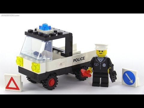 LEGO classic Town Tactical Patrol Truck from 1985! set 6632