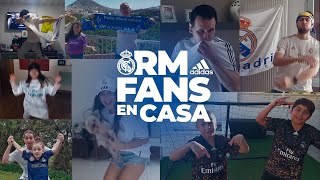 🎵 ¡Soy del Madrid, del Real! | If You Create The Noise, ft. #RMFansEnCasa