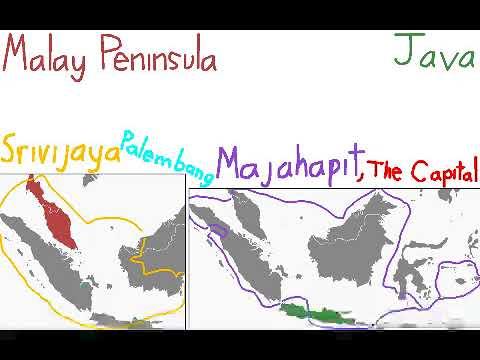 Short Summary: Srivijaya, Majapahit, & Medieval Indonesia