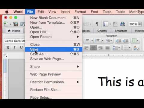 Password protect a document in Word for Mac - Word for Mac