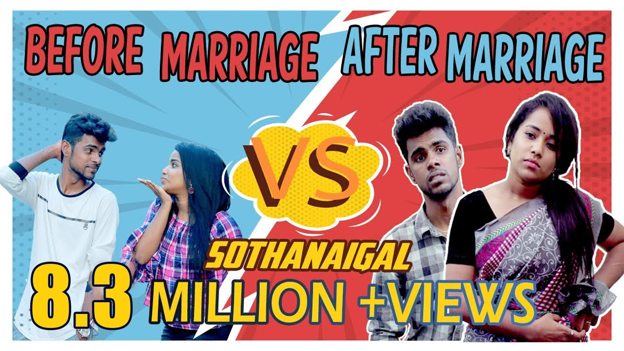 Before Marriage vs After Marriage Sothanaigal | Reupload | Micset
