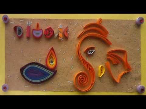 Diwali greeting card design youtube diwali greeting card design m4hsunfo