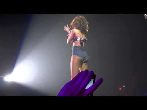 Rihanna (Cheers to that) live at Antwerpen filmed by Yosniel
