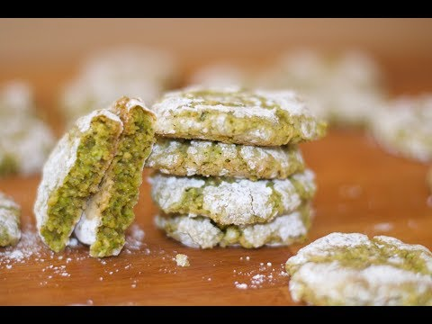 Italian Pistachio Cookie Recipe - How To Cook Real Italian Food From My Italian Kitchen