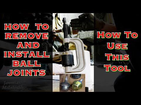 How To use a Ball Joint Removal Tool to remove and install ball joints 2019