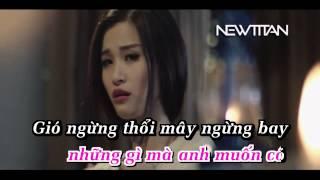 [Karaoke Beat HD] Giận Lòng - Đông Nhi