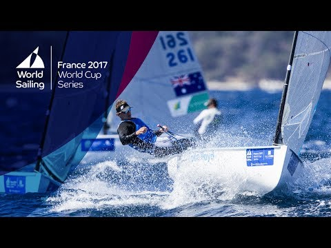 Full Finn Medal Race from the World Cup Series Hyères 2017