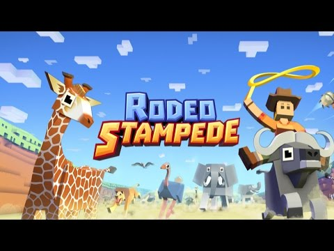 Rodeo Stampede - Sky Zoo Safari (by Featherweight Games) - iOS/Android - HD Gameplay Trailer