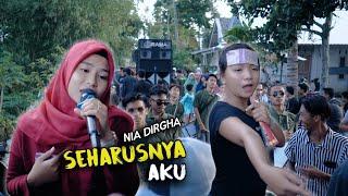 Download NIA DIRGHA - SEHARUSNYA AKU Cover DANGDUT JALANAN LOMBOK IRAMA DOPANG