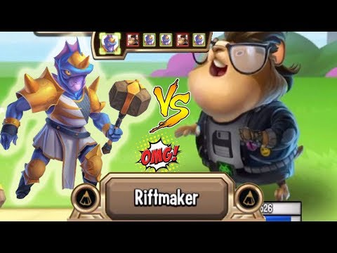 Monster Legends - Hydratila the Riftmaker level 130 vs Hackster combat review