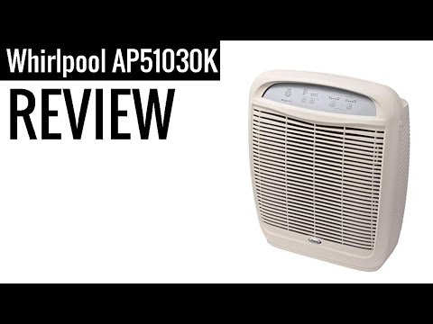 Whirlpool Whispure Air Purifier HEPA Air Cleaner AP51030K 2019 review