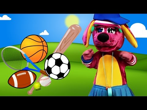 """Kids Video - """"Doggie Sports Day"""" -  The Raggs Band"""