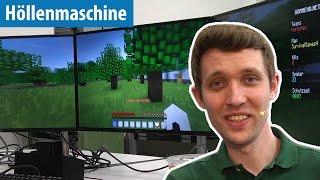 Minecraft auf drei Monitoren mit Benx auf der Höllenmaschine 7 | deutsch / german